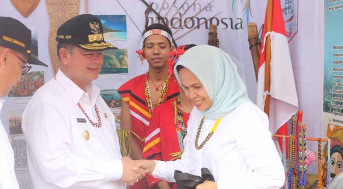 KUNKER | Kunjungan kerja Wakil Gubernur Sumbar Nasrul Abit ke Mentawai, Jumat, 1 April 2016.