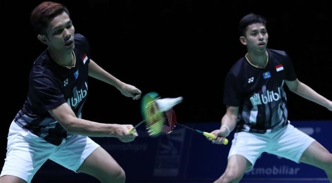 Fajar/Rian akan berhadapan dengan wakil Taiwan, Lee Yang/Wang Chi-Lin di final