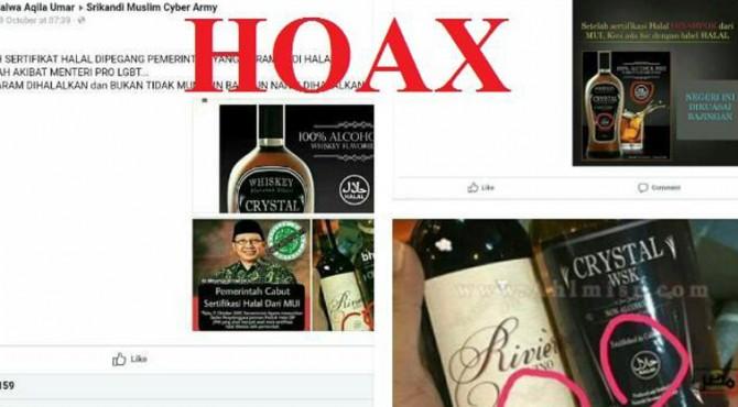 Kemenag Tegaskan Label Halal di Miunuman Keras Hoax