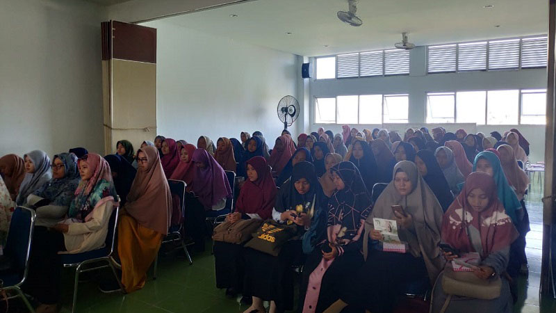 Natur - E hadir di Sekolah Tinggi Keguruan dan Ilmu Pendidikan(STKIP) Adzkia Padang dengan tagline