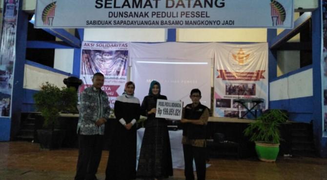 Pessel Peduli Muslim Rohingya Kumpulkan Donasi Rp 200 juta
