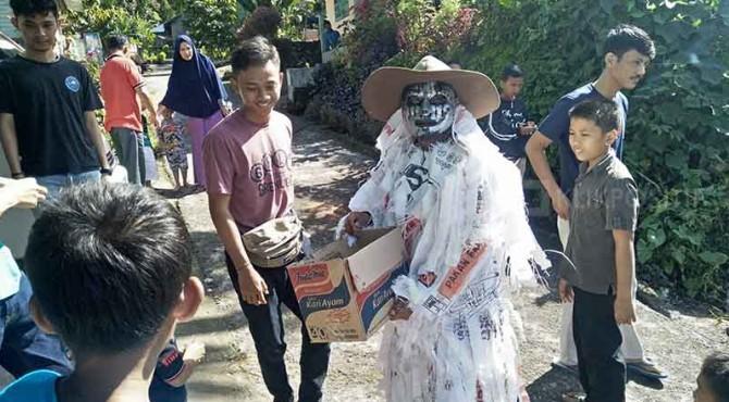 Salah satu Simuntu yang ditemui di kawasan Paninjauan, Kecamatan Tanjung Raya, Agam.