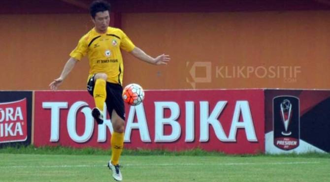 Ko Jae Sung, pemain asal Korea Selatan yang dalam waktu dekat resmi berseragam Semen Padang FC.