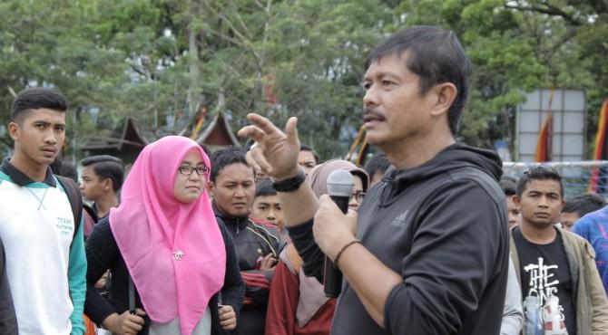 Pelatih Timnas Indonesia U-22 Indra Sjafri