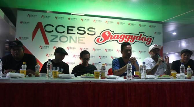 Meet & Greet jelang Access Zone present Shaggy Dog pada Minggu 14 Juli 2019 di Whatever Pool & Resto, Solok