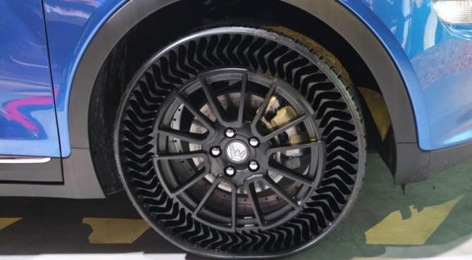 Ban tanpa angin milik Michelin