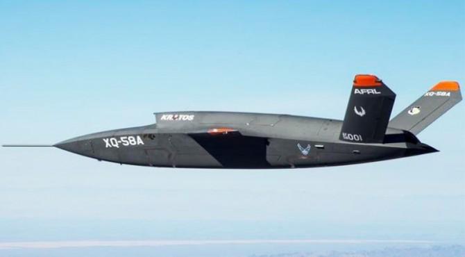 Pesawat tempur dengan teknologi AI milik Amerika Serikat.
