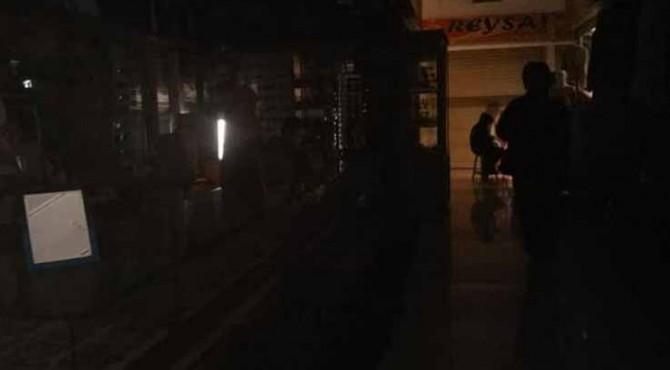 Kondisi gelap gulita di SPR Padang