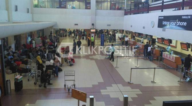 Belum Ada Lonjakan Penumpang Hingga H-4 Lebaran di Bandara Internasional Minangkabau