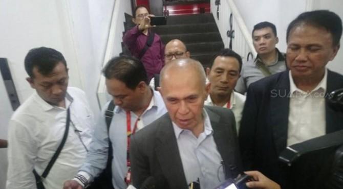 Kivlan Zein saat di Polda Metro Jaya