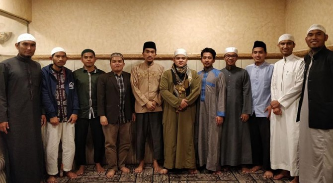 Anggota IPMI di beberapa negara saat melakukan ramah tamah dengan anggota yang lain di luar negeri.