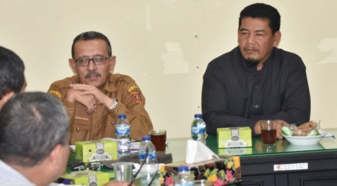 Kepala Distan Agam bersama Wakil Ketua DPRD Agam