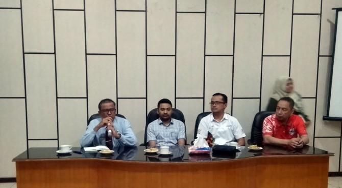 Rapat survey TdS 2019 di Aula Kantor Bupati Solok Selatan, Jum'at 16 Agustus 2019.
