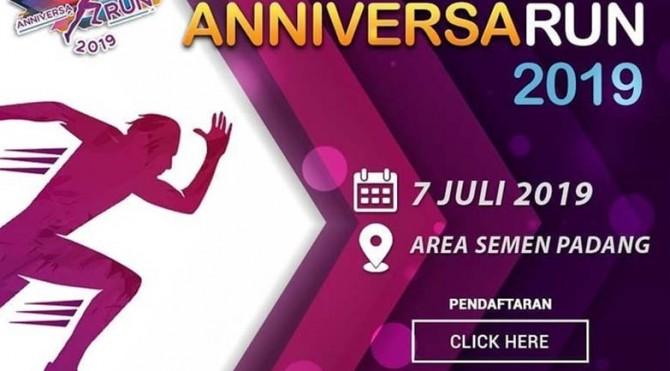 Semen Padang Runner Club menyelenggarakan kegiatan Fun Run dengan mengusung tema