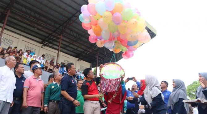 Peringatan Hari Gizi Nasional berlangsung meriah