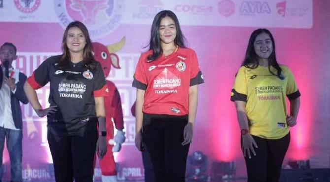 Penampakan jersey yang akan digunakan para pemain Semen Padang FC untuk Liga 1 2019.