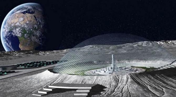 ilustrasi pangkalan bulan