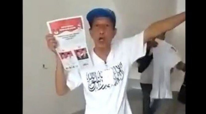 Video viral diduga surat suara tercoblos di Malaysia