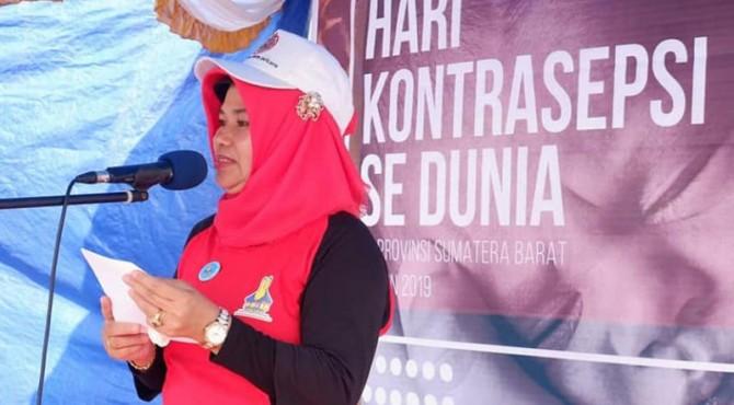 Plt Kabid KBKR Perwakilan BKKBN Provinsi Sumatera Barat Yusnani