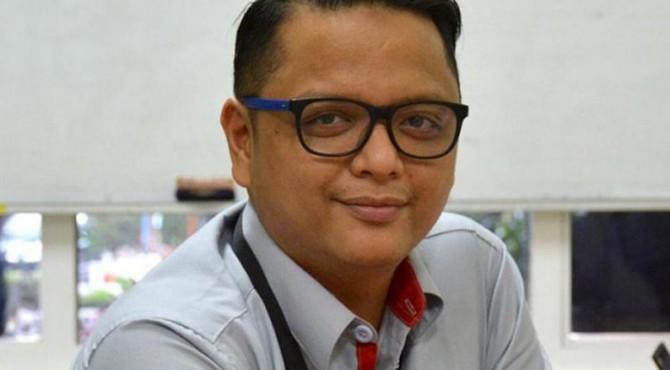 Kepala Biro CSR semen Padang Muhammad Ikrar