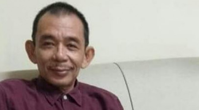 Ketua Dewan Pimpinan Daerah Projo Sumatera Barat, Mhd Husni Nahar