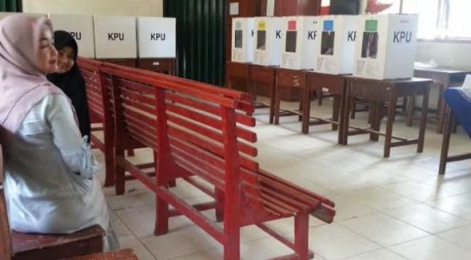 Situasi TPS 03 Jorong Pasaman Baru, Nagari Lingkuang Aua, Kecamatan Pasaman.