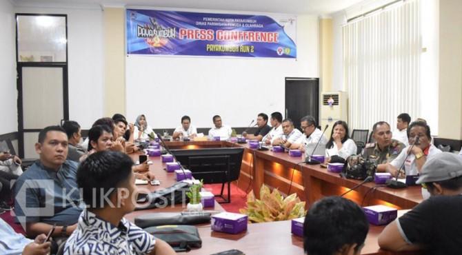 konferensi pers Payakumbuh Run 2 2019.