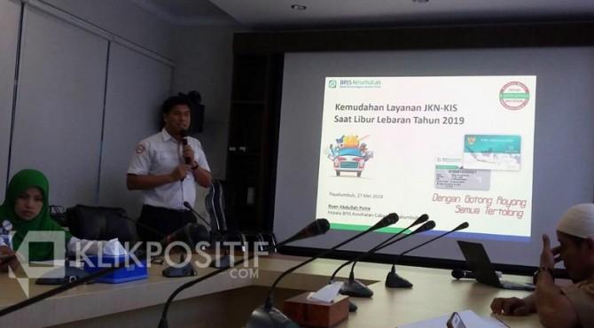 Kepala BPJS Kesehatan Cabang Payakumbuh Ryan Abdullah Putra.