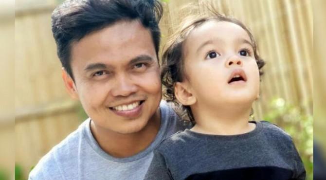 Zulfirman Syah dan anaknya yang menjadi korban penembakan di Selandia Baru