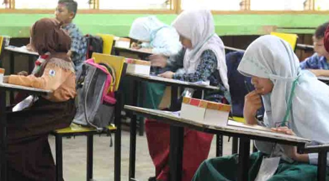 Siswa SD se-Kota Padang ikuti lomba Sains di Yayasan Semen Padang