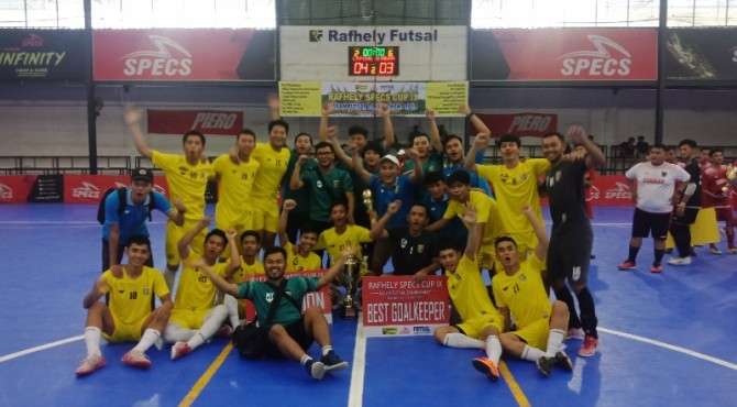 Tim Pra PON Lampung Juara Rafhely Specs IX