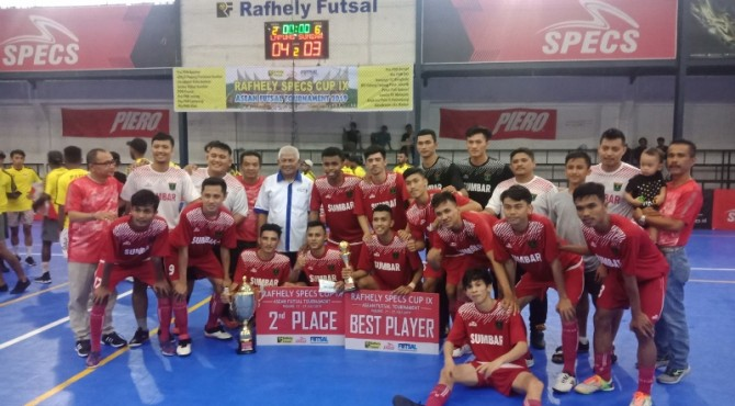 Tim Futsal Pra PON runner up RSC 2019
