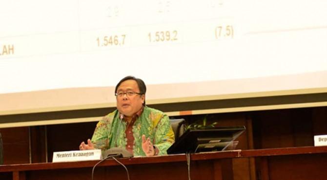 Menteri Keuangan Bambang P.S. Brodjonegoro