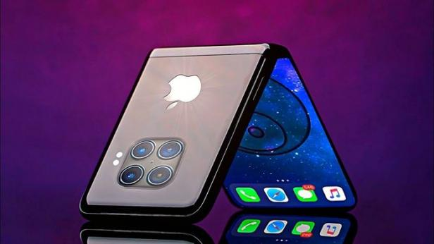 ilustrasi: iPhone lipat atau iPhone Foldable