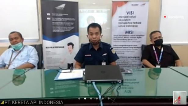 Press Conference bersama perwakilan BUMN di Sumbar via Zoom Meeting IJTI Sumbar