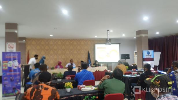 Raker Program Pemberdayaan Masyarakat Anti Narkoba di Lingkungan Masyarakat, Kamis 16 Juli 2020 di Hotel Mangkuto.