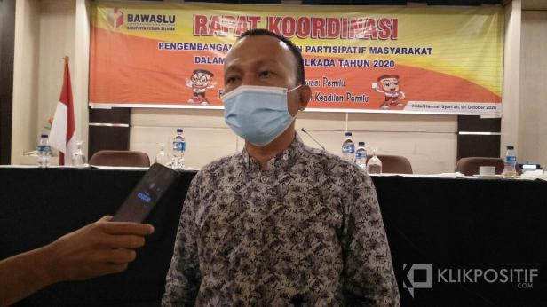 Ketua Bawaslu Pessel, Erman Wadison