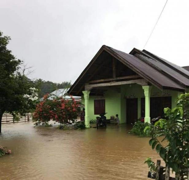 Kondisi banir di Kampung Angsa Pancungsoal Pessel