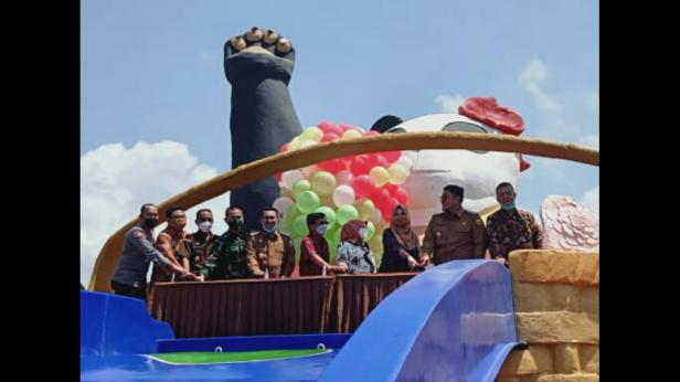 Softopening Emersia Waterpark Batusangkar