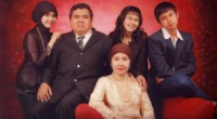 Asril Das dan Keluarga.