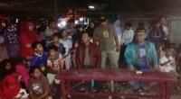 Dandim 0305/Pasaman, Letkol, Arm, Cosmas Pramundhito menonton bareng film G30 SPKI bersama masyarakat