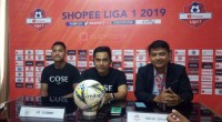 Technical meeting Semen Padang FC kontra PS Sleman.
