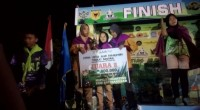 Mapala SDU Faterna Unand meraih juara II kategori putri pada ajang LLAP