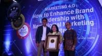 Peraihan penghargaan IBBA sebagai brand sepeda motor terbaik 2019