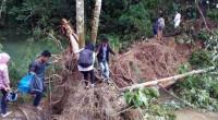 Lokasi banjir dan longsor di Kabupaten Limapuluh Kota