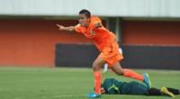 Mayang ZP, top skor sementara Liga 1 Putri yang bermain untuk Persija Jakarta dan berasal dari Kabupaten Limapuluh Kota, Sumbar.