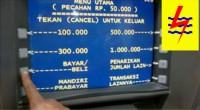 Ilustrasi cara bayar listrik dengan ATM