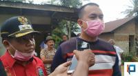 Ketua DPRD Lima Puluh Kota Deni Asra didampingi Wakil Bupati Ferizal Ridwan.