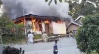 Rumah terbakar di Lintau Buo Utara Tanah Datar