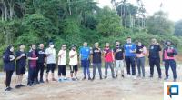 Audy Joinaldi dan Tim Usai Jalan Santai di Bukit Gado-gado, Kota Padang